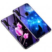 TPU+Glass чехол Fantasy с глянцевыми торцами для Samsung Galaxy A20s