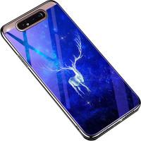 TPU+Glass чехол Fantasy с глянцевыми торцами для Samsung Galaxy A80