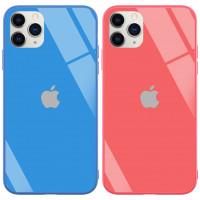 "TPU+Glass чехол GLOSSY Logo series для Apple iPhone 11 Pro Max (6.5"")"