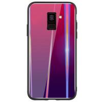 Купить TPU+Glass чехол Gradient Aurora для Samsung J600F Galaxy J6 (2018), Epik
