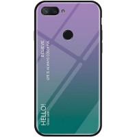 TPU+Glass чехол Gradient HELLO для Xiaomi Mi 8 Lite / Mi 8 Youth (Mi 8X)