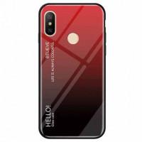 TPU+Glass чехол Gradient HELLO для Xiaomi Mi Max 3