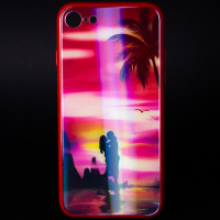 Купить TPU+Glass чехол Lumi светящийся в темноте для Apple iPhone 7 / 8 (4.7 ), Epik
