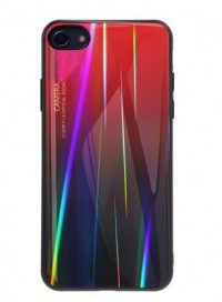 TPU+Glass чохол Luster для Apple iPhone 7 (4.7'')