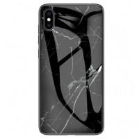 "TPU+Glass чехол Luxury Marble для Apple iPhone XS Max (6.5"")"