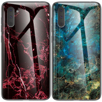 TPU+Glass чехол Luxury Marble для Samsung Galaxy Note 10