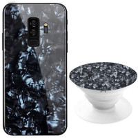 Купить TPU+Glass чехол Shell & Popsocket (набор) для Samsung Galaxy S9+, Epik