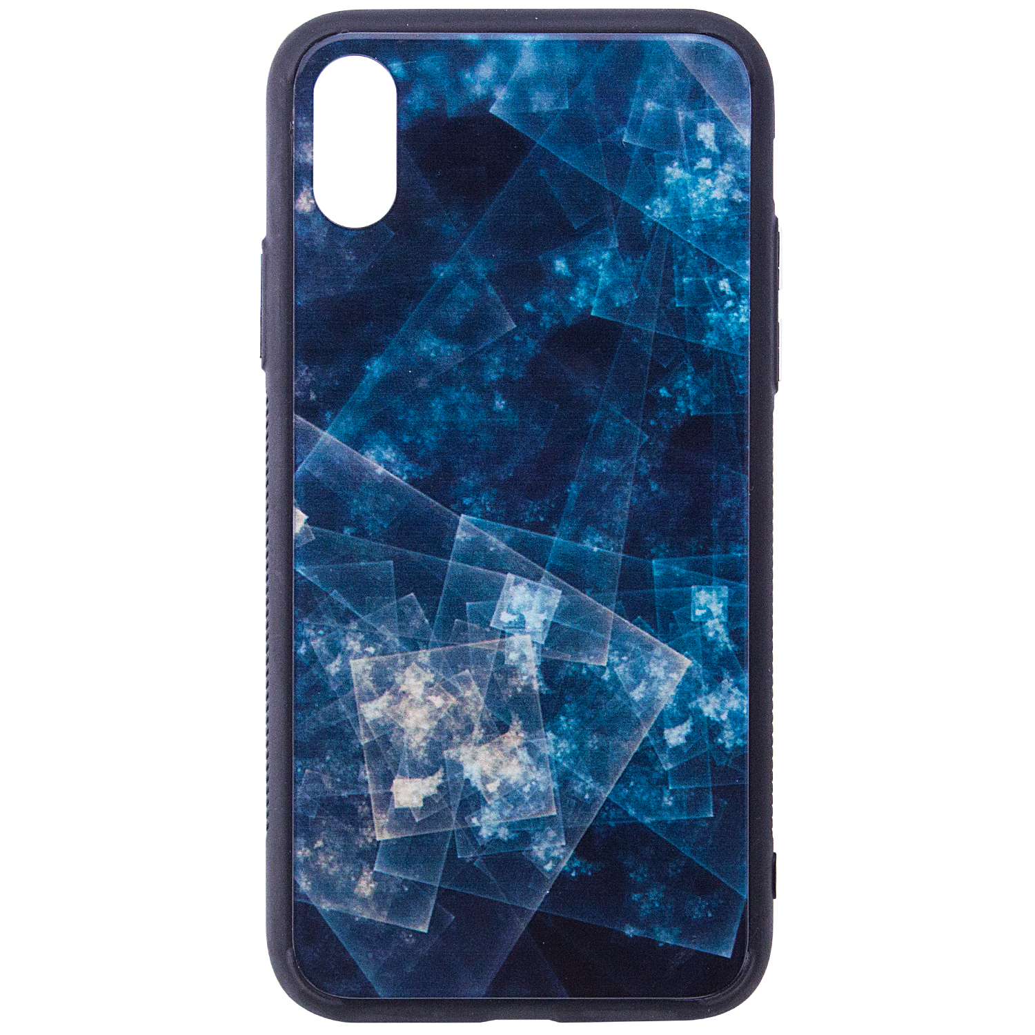 Купить TPU+Glass чехол YCT для Apple iPhone X (5.8') / XS (5.8') за 239 грн