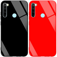 TPU+Glass чехол GLOSSY для Xiaomi Redmi Note 8