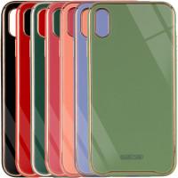 "TPU+Glass чехол Venezia для Apple iPhone X / XS (5.8"")"