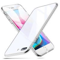 Купить TPU+Glass чехол Clear для Apple iPhone 7 plus / 8 plus (5.5 ), Epik