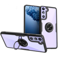 TPU+PC чехол Deen CrystalRing for Magnet (opp) для Samsung Galaxy S21 FE