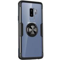 TPU+PC чехол Deen CrystalRing for Magnet (opp) для Samsung Galaxy S9+