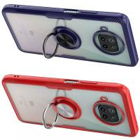 TPU+PC чехол Deen CrystalRing for Magnet (opp) для Xiaomi Mi 10T Lite / Redmi Note 9 Pro 5G