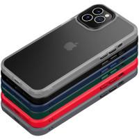 "TPU+PC чехол Metal Buttons для Apple iPhone 12 Pro / 12 (6.1"")"