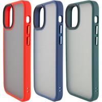 "TPU+PC чехол Metal Buttons для Apple iPhone 13 (6.1"")"