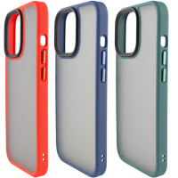 "TPU+PC чехол Metal Buttons для Apple iPhone 13 Pro Max (6.7"")"