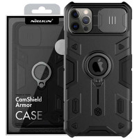 TPU+PC чехол Nillkin CamShield Armor (шторка на камеру) для Apple iPhone 12 (6.1'')