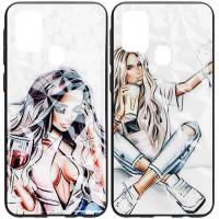 TPU+PC чехол Prisma Ladies для Samsung Galaxy M31