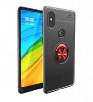 TPU чехол Deen ColorRing под магнитный держатель для Xiaomi Redmi S2
