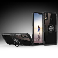 TPU+PC чохол Deen CrystalRing під магнітний тримач для Huawei Honor 8X