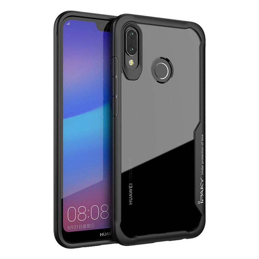 Купить TPU+PC чехол iPaky Luckcool Series для Huawei P20 Lite за 299 грн