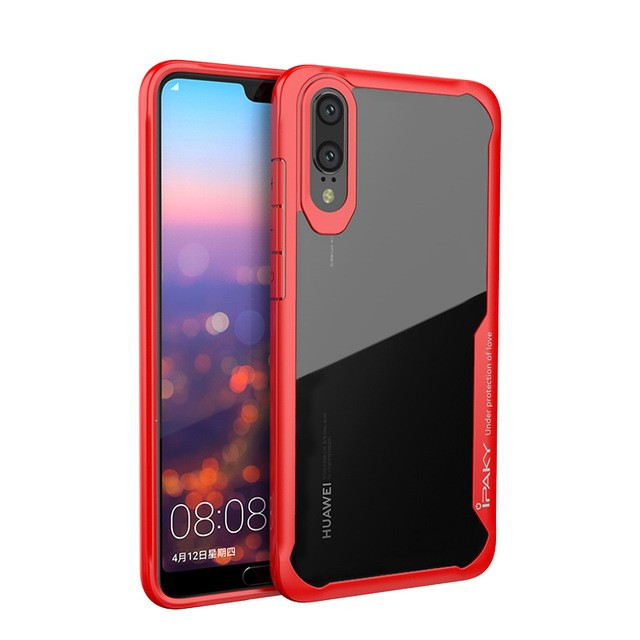 Фото TPU+PC чехол iPaky Luckcool Series для Huawei P20 Pro (3 цвета) на itsell.ua