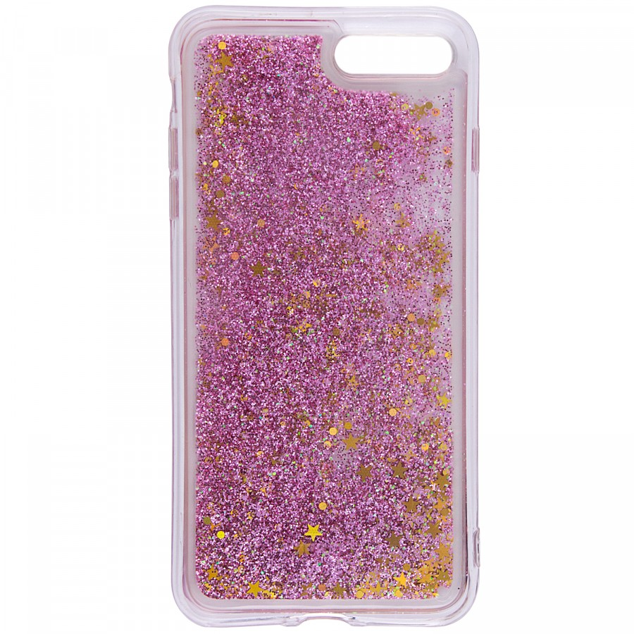 "Фото TPU+PC чехол Liquid (glitter) для Apple iPhone 7 plus / 8 plus (5.5"") ((2) Just smile) на itsell.ua"