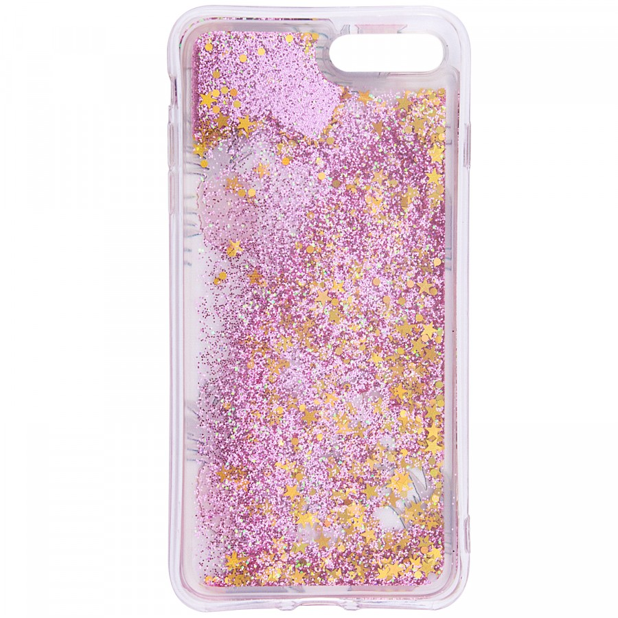 Фото TPU+PC чехол Liquid (glitter) для Apple iPhone 7 plus / 8 plus (5.5