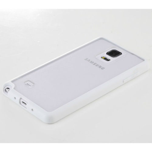 Фото TPU+PC чехол Rock Enchanting Series для Samsung N910H Galaxy Note 4 Белый / White на itsell.ua