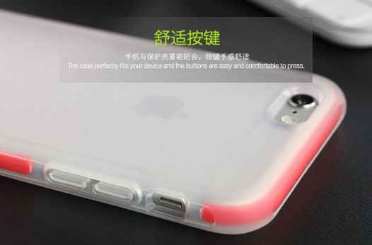 Фото TPU+PC чехол Rock Guard Series для Apple iPhone 6/6s (4.7
