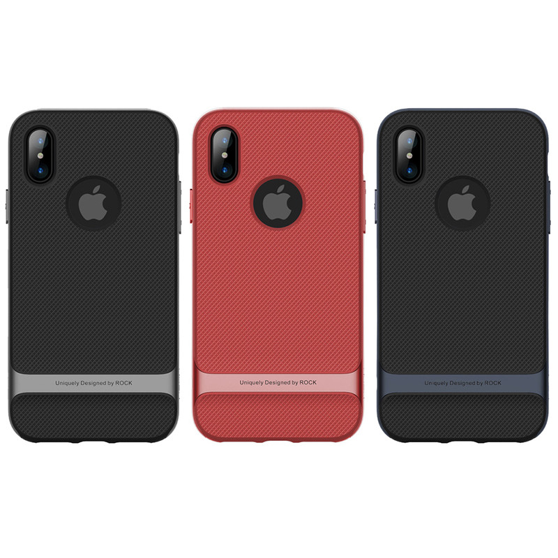 "TPU+PC чехол Rock Royce Series для Apple iPhone X (5.8"")"