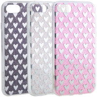 Купить TPU+PC чехол Shine Hearts для Apple iPhone 7 / 8 (4.7 ), Epik