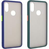 TPU+PC чехол Color Buttons для Samsung Galaxy A10s