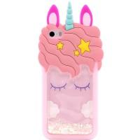 Силіконовий чохол Unicorn 3D для Apple iPhone 5/5S/SE