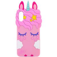 """Силиконовый чехол Unicorn 3D для Apple iPhone X (5.8"""")"""