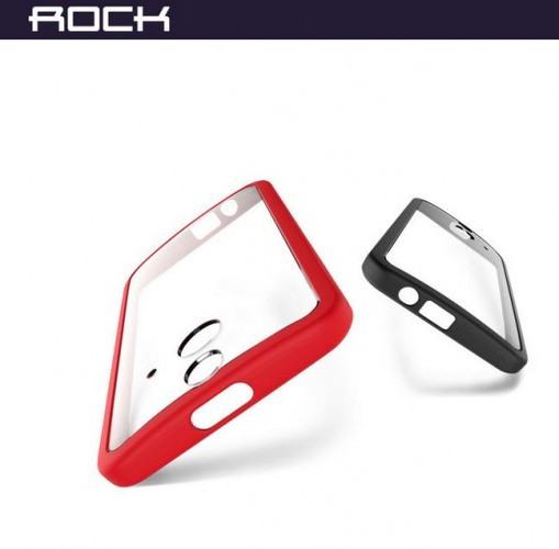 Фото TPU+PC чехол Rock Enchanting Series для HTC One / E8 Красный / Red в магазине itsell.ua