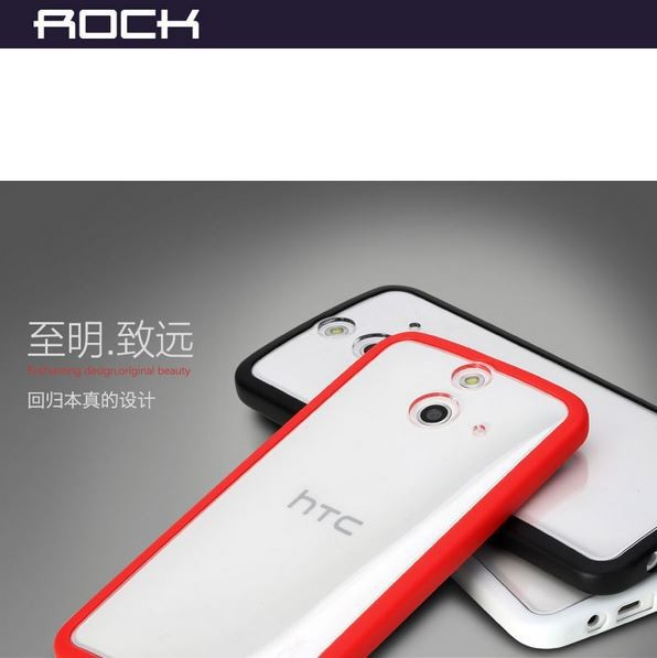 TPU+PC чехол Rock Enchanting Series для HTC One / E8 Красный / Red в магазине itsell.ua