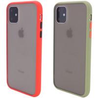"TPU+PC чехол Color Buttons Shield для Apple iPhone 11 (6.1"")"