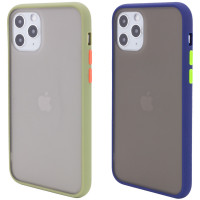 "TPU+PC чехол Color Buttons Shield для Apple iPhone 11 Pro Max (6.5"")"
