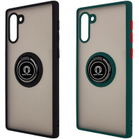 TPU+PC чехол Deen ColorEdgingRing for Magnet для Samsung Galaxy Note 10