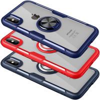 "TPU+PC чехол Deen CrystalRing for Magnet (opp) для Apple iPhone X (5.8"")"