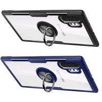 TPU+PC чехол Deen CrystalRing for Magnet (opp) для Samsung Galaxy Note 10 Plus