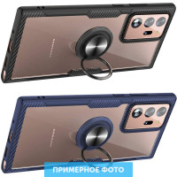 TPU+PC чехол Deen CrystalRing for Magnet (opp) для Samsung Galaxy Note 20 Ultra