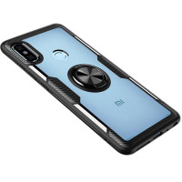 TPU+PC чехол Deen CrystalRing for Magnet (opp) для Xiaomi Redmi Note 5 Pro / Note 5 (AI Dual Camera)