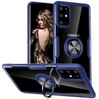 TPU+PC чехол Deen CrystalRing под магнитный держатель для Samsung Galaxy S20+