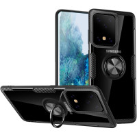 TPU+PC чохол Deen CrystalRing під магнітний тримач для Samsung Galaxy S20 Ultra