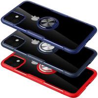 "TPU+PC чехол Deen CrystalRing for Magnet (opp) для Apple iPhone 11 (6.1"")"
