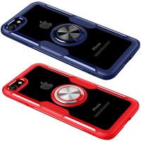 TPU+PC чехол Deen CrystalRing for Magnet (opp) для Apple iPhone 7 / 8 / SE (2020)