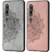 TPU+Textile чехол Mandala с 3D тиснением для Xiaomi Mi Note 10 / Note 10 Pro / Mi CC9 Pro